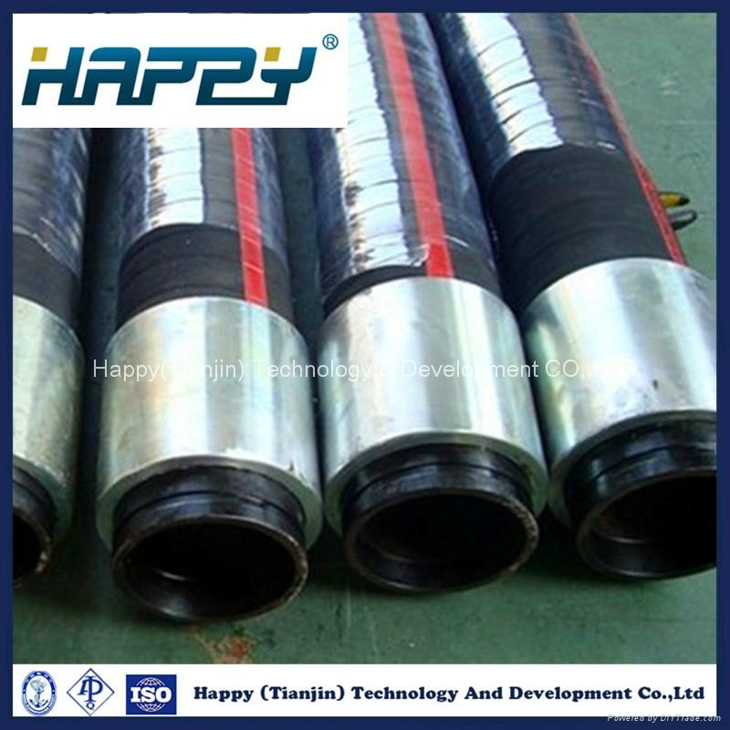 High Pressure Fire Flame Resistance Hydraulic Rubber Hose 3