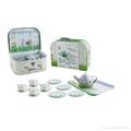 Chinese mini tea set toys (TIN TEAPOT SET) 2