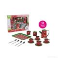 Chinese mini tea set toys (TIN TEAPOT SET) 5