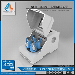 Focucy High Efficiency 0.4L Ultrafine Grinding Vertical Lab Planetary Ball Mill