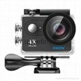 2.0 inch Ultra Full HD 1080P Sports Action Camera 4K Video Camer EKEN H9R 2