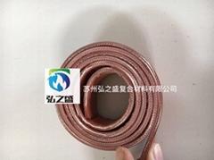 常熟硅橡膠纖維板硅鈦合金橡膠板3公分寬