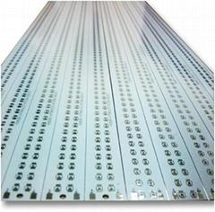 flat long led alu pcb oem custom design factory