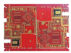 8 layer PCB with blind and buried holes and BGA Manufacturing