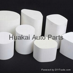 China factory supply car exhaust honeycomb filter three way catalyst