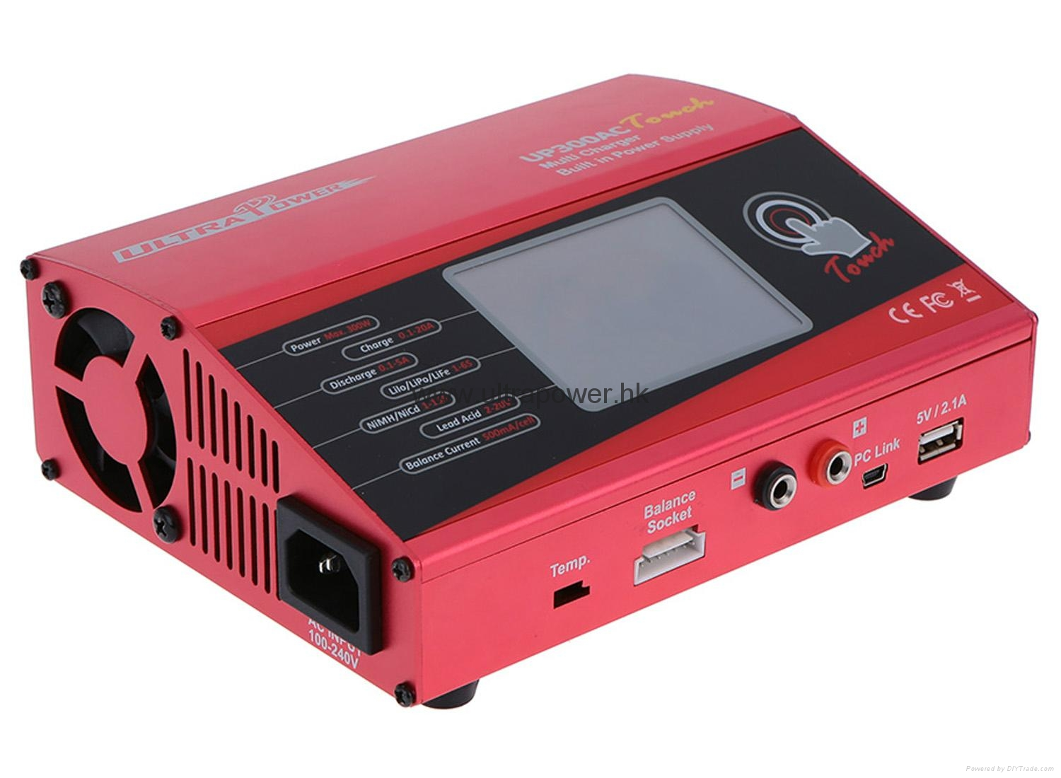 UP300AC TOUCH  RC charger ultra power 1
