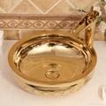 Handmade Kitchen Above Counter Top Wash Basin Sinks Ceramic Hand Wash Basin Sink 3