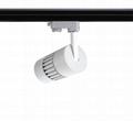 30W Modern Indoor LED Track Lighting 4 Wires 2