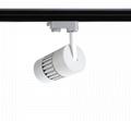LED COB Track Lighting Fixtures 30W 2570lm 3