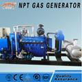 100kw biogas fuel generators with Deutz