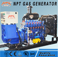 CE approved 200 kw natural gas generator