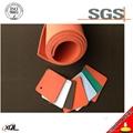 Heat-resistant silicone rubber foam flexible rubber sheet