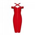 New style red bandage dress wholesale