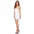 Strapless Mini Bandage Dress with Tassels  Stylish Party Dress