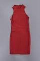 Round neck Close back Stylish Mini Bandage Dress