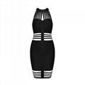 Stylish Halter Cut out Mini Bandage Dress Sexy Club Dress