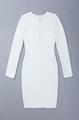 Long Sleeves Hollow bandage dress Fashion Ladies Dres