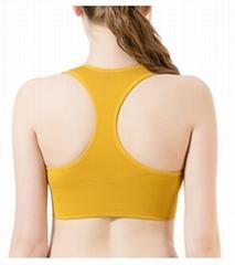 Women's Yoga Bra Medium Support Workout Sports Bra Racerback Seamless