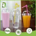 Custom logo printed disposable plastic cups 3