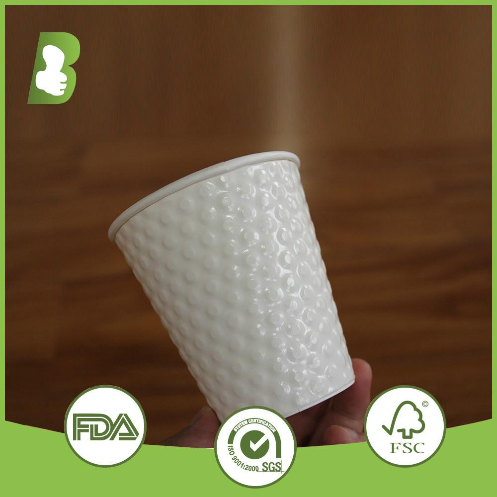 Eco-friendly  double wall paper disposable cups 3