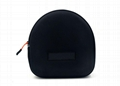 Elegant Custom Headphone Carrying Case With Nylon 1680D Surface Material  1
