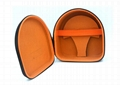 Elegant Custom Headphone Carrying Case With Nylon 1680D Surface Material  2
