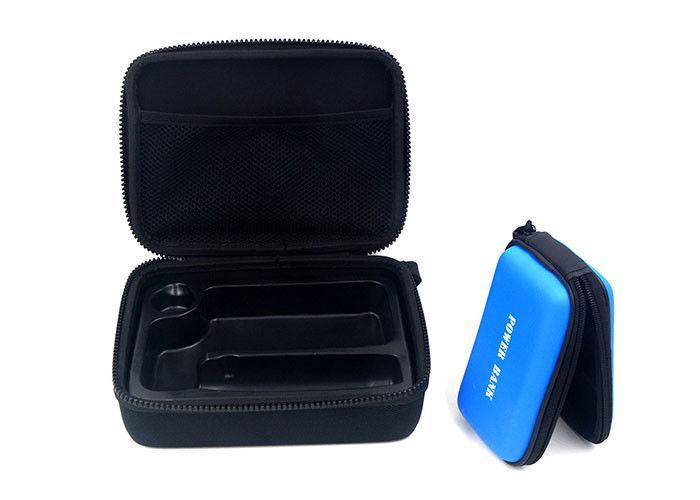 EVA Hard Carrying Case Nylon 1680D With Plastic Black Plating Zipper 3