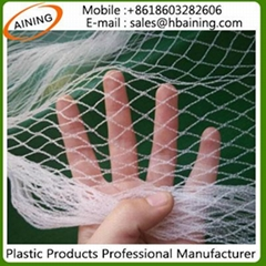 Virgin HDPE White or Black Color Anti Bird Protection Net