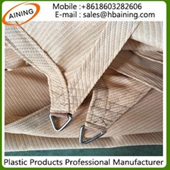 Triangle Square HDPE or Polyester Waterproof Sun Shade Sail