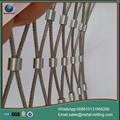 wire rope netting ga  anized rope mesh