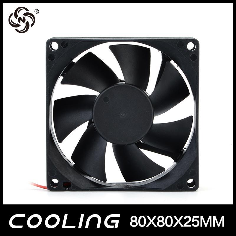 Axial Flow Fan 80X80X25mm 3.3V 5V 12V 24V  Factory Good Price 2