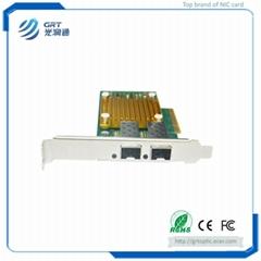 F1002E 10Gigabit  Intel 82599ES Dual-port Fiber Optic PCIe NIC Server Adapter