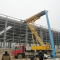 8T 23m Factory Direct Supplier  multifunction hydraulic tower crane  1
