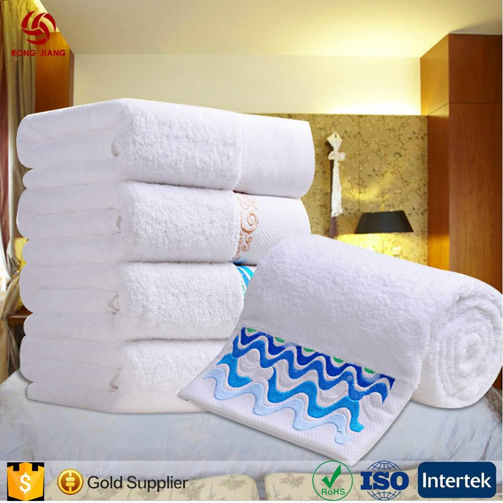China Factory Provide 100% Cotton Hotel White bath Towel for 5 Star Hotel with F 1