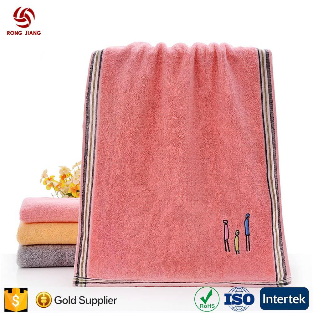 China Factory Provid Hot Sell 100% Cotton Face Towel Set for 5 Star Hotel with F 5