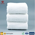 China Factory Provide High Quality 100% Cotton White Towel Set for 5 Star Hotel  4
