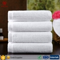 China Factory Offer High Quality 100% Cotton White Towels With Customer Design a 5