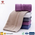 100% Cotton Face Towels for Hotel and