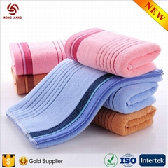 Factory price 100% Cotton Towels Cut Pile Cotton Face Towel Hand Towel
