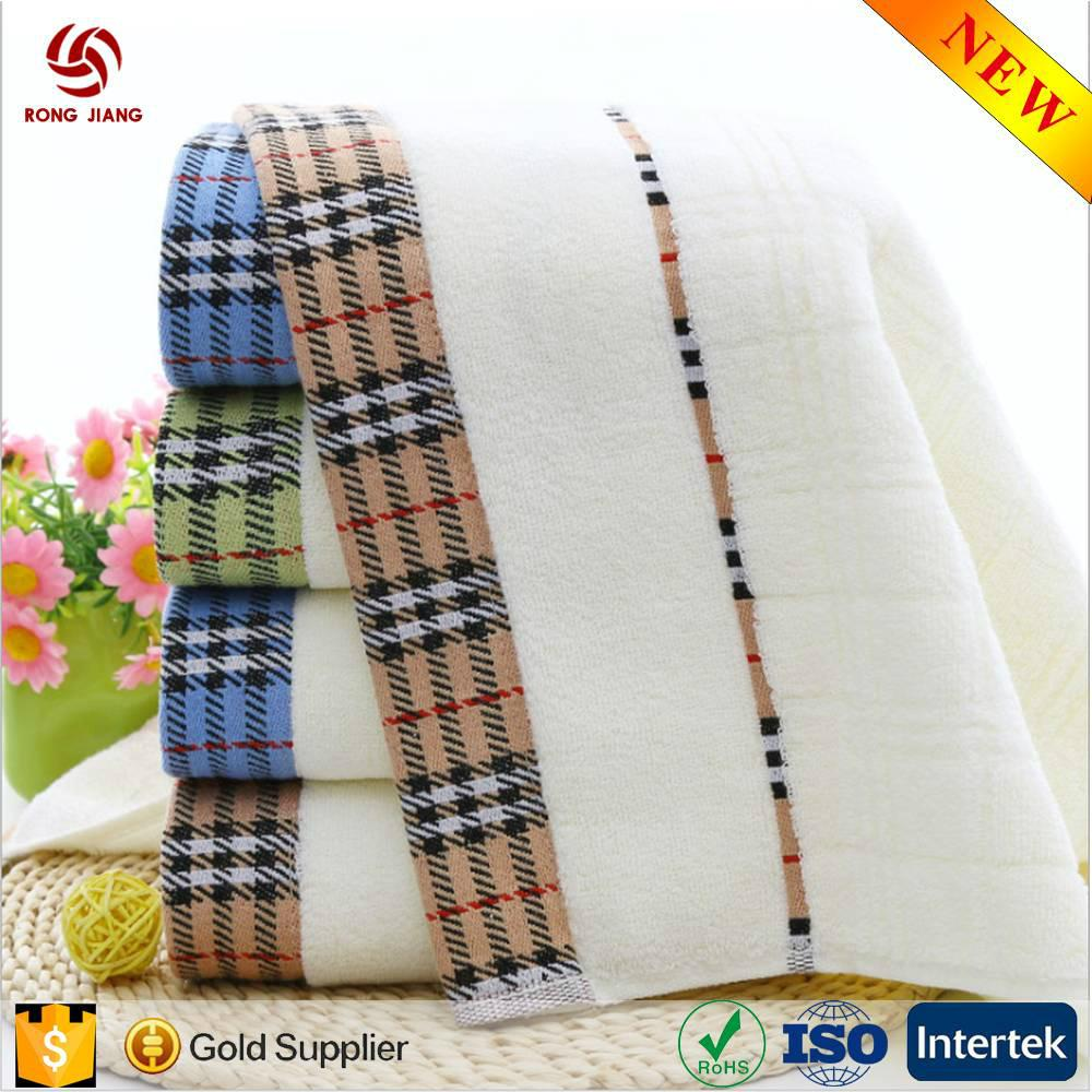 China Factory Wholesale 100% cotton hotel towel with factory price 2