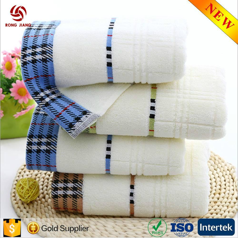 China Factory Wholesale 100% cotton hotel towel with factory price 4