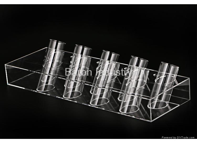 Acrylic eyebrow pencil display rack pen holders 3