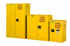 Fire-resistant safety cabinet