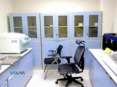 Steel laboratory cupboard storage laboratory glassware cabinet