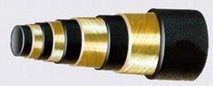SAE 100R13 Four Spiral Wire Hose hydraulic hose rubber hose