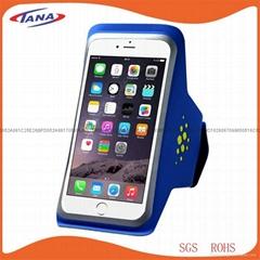 高质量的防汗超薄莱卡iPhone手臂包智能手机臂带