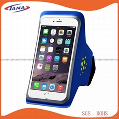 Lycra Sport Running Armband for iPhone Smart Phone Arm Case