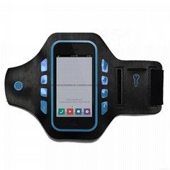 LED safety sports armband, any customized designs and sizes accepted