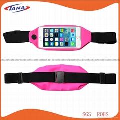 Running Sports Exercise Adjustable Sports Lycra Waist Bag for Apple 6/6S