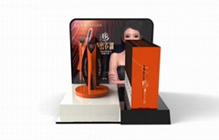 Acrylic Countertop Makeup Display Stand For Eyelash